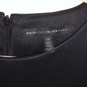 White House Black Market black sheath dress. 10